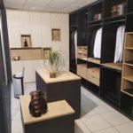 Dressing noir et bois - AGEM