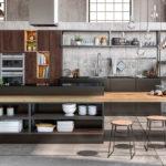 Sagne Lounge Cuisine ambiance Chimère - Cuisines Debard