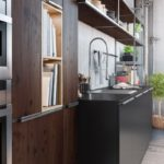 Sagne Lounge détail chimère - Cuisines Debard