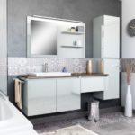 salle de bain YOU meuble suspendu colonne rangement miroir baignoire et cuisines